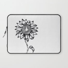Flowers smelling you Laptop Sleeve