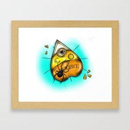 Skin Crawling Framed Art Print