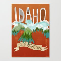 Idaho Canvas Print