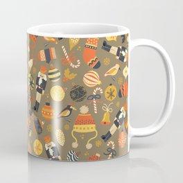 Christmas Vintage Ornaments Coffee Mug