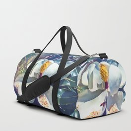 Magnolia Blossom and Bee Duffle Bag