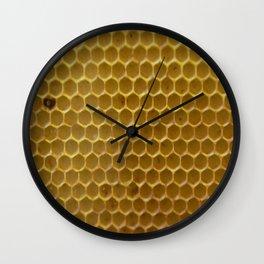 Bees work - Ruche d'abeille - #animal Wall Clock