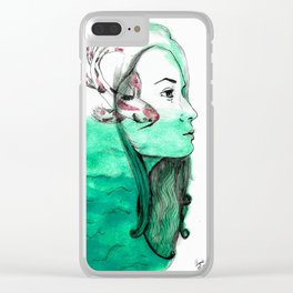 Koi Feelings Clear iPhone Case