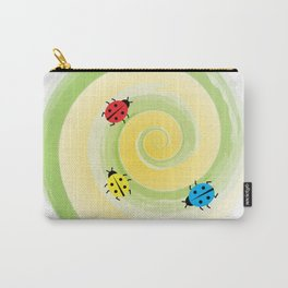 Ladybirds on the Vine Carry-All Pouch