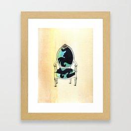 Curieux Framed Art Print
