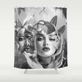 Drifting On A Memory Shower Curtain
