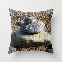 Soldier's Bay Throw Pillow