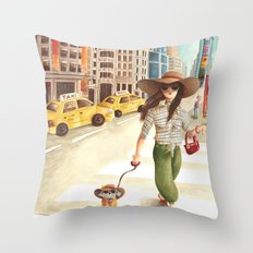 Privacy Throw Pillow