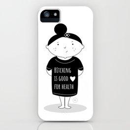 Bitch's advice iPhone Case