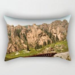 Cathedral Park, Garden of the Gods, Colorado Springs, Colorado, 1901 Rectangular Pillow