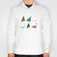 boats Hoodies featuring Boats by CaptainChrisP