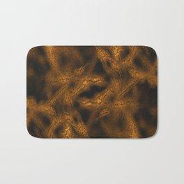 Gold fantasy pattern Bath Mat