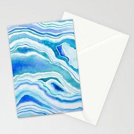 Blue Wave Stationery Cards