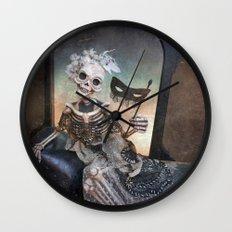 Rucus Studio Catrina In Waiting Wall Clock