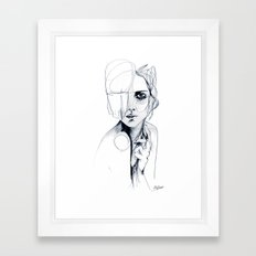 Sketch V Framed Art Print