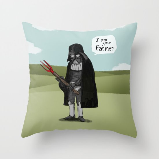 I am your Farmer Throw Pillow
