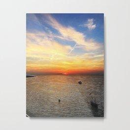 Italian Sunset Metal Print