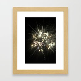 Chaos & Light Framed Art Print