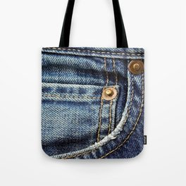 Texture #17 Jeans Tote Bag