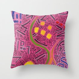 RAYCLEST 8 Throw Pillow
