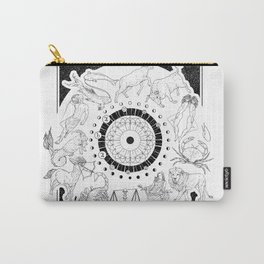 As Above, So Below - Zodiac Illustration Carry-All Pouch