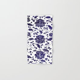 Chinese Floral Pattern Hand & Bath Towel