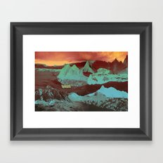 Greetings from a Strange Land Framed Art Print