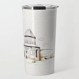 armenian church in ani Travel Mug
