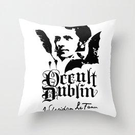 OCCULT DUBLIN series: Sheridan La Fans Throw Pillow