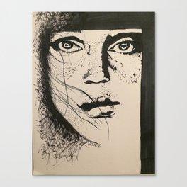 Freckle Face Canvas Print