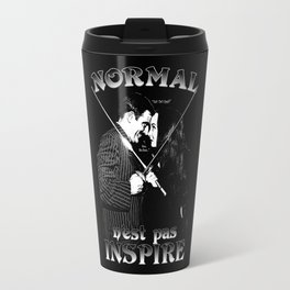 Normal n'est pas Inspire (Gomez & Morticia) Travel Mug