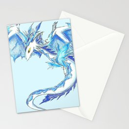 Ice Wyvern Stationery Cards