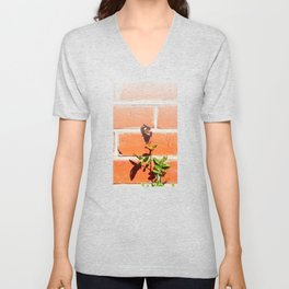 The poetry of ordinary things Unisex V-Neck