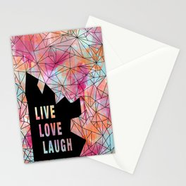 Live.Love.Laugh Stationery Cards