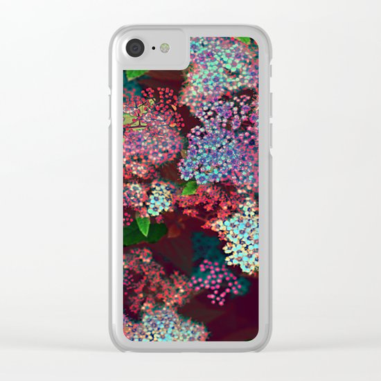 Flower carpet(55) Clear iPhone Case