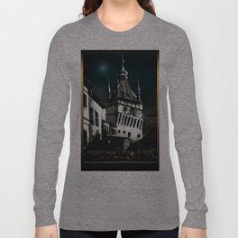 #SighisoaraClockTower IV Long Sleeve T-shirt