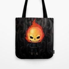 Chibi Ghost Rider Tote Bag