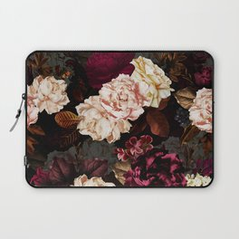 Vintage & Shabby Chic - Midnight Rose and Peony Garden Laptop Sleeve