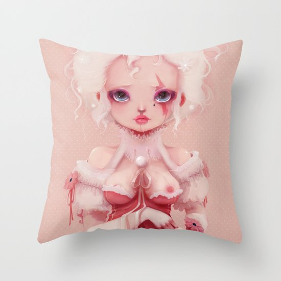 No pink anymore... Throw Pillow