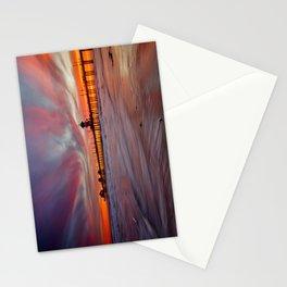 HB Sunsets  4/30/15  Huntington Beach, CA Stationery Cards