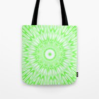 lime green Tote Bags featuring Lime by SimplyChic