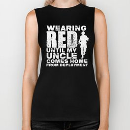 Remember Everyone Deployed  Red Shirt Friday For Uncle Biker Tank