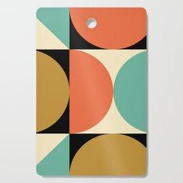 Mid Century Modern Geometric Abstract 235 Cutting Board