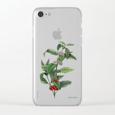 Coffea arabica Clear iPhone Case