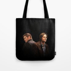 The Brothers Winchester Tote Bag