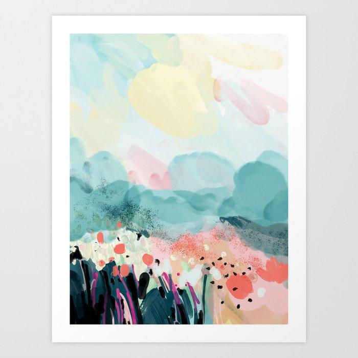 spring landscape Kunstdrucke