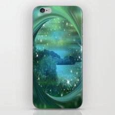 Starlit Lake. iPhone & iPod Skin