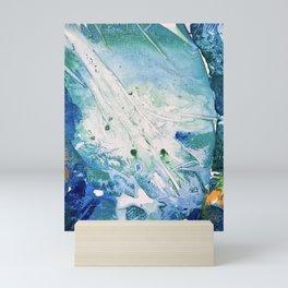 Ocean White Mini Art Print