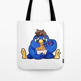 Chubby Bird Nuddles full figured diet present Tote Bag