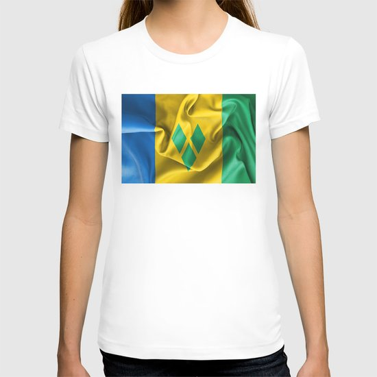 Saint Vincent and the Grenadines Flag by markuk97
